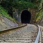 Cumberland Gap Railroad Tunnel by Kenneth Keifer