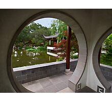 Chinese Garden view at The Huntington Photographic Print