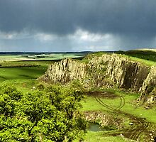 Along Hadrian's Wall by Carole-Anne