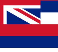 Hawaii State Flag Sticker
