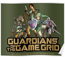 Guardians of the Game Grid. Poster