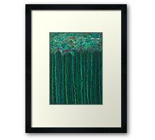 Tufts on Stems in Water Framed Print