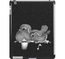 Feathered Friends with Charcoal iPad Case/Skin