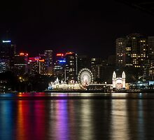 Luna Park, Sydney, NSW Australia by Allport Photography