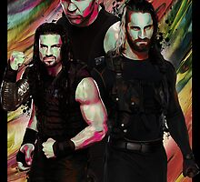The Shield Painting by Drake Dean