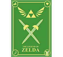 Triforce Wings Photographic Print