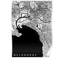 Melbourne Map Poster