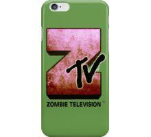 Zombie TV iPhone Case/Skin
