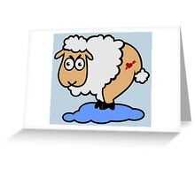 Sexy Sheep in Sheep heaven Greeting Card