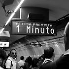 Waiting on the Roman Metro by rsangsterkelly