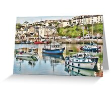 A little bit of Brixham Greeting Card