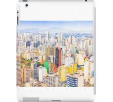 Buildings in Sao Paulo, Brazil iPad Case/Skin