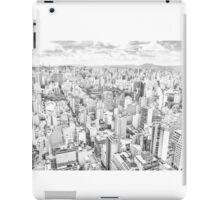 View of Sao Paulo, Brazil iPad Case/Skin