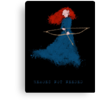 Merida - heroesNOTneeded Canvas Print