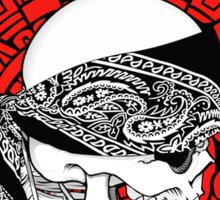 Bandana Skull Sticker