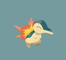 Cyndaquil Low Poly by meowzilla