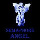 SEMAPHORE MEMORIAL ANGEL by JAMES LEVETT