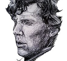 Sherlock Ballpoint  by theridingcrop