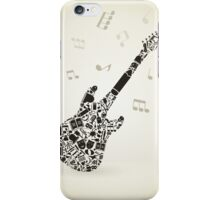 Art a guitar iPhone Case/Skin
