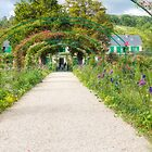 The Famous Monet Arches, Giverny, France by Elaine Teague
