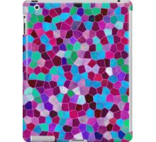 Mosaic Texture Stained Glass iPad Case/Skin