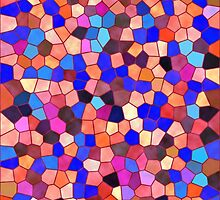 Mosaic Texture Stained Glass by Medusa81