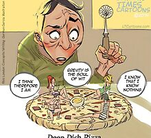 Deep Dish Pizza by Rick  London
