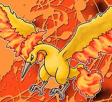 Pokemon Moltres Phone Case by TomsTops