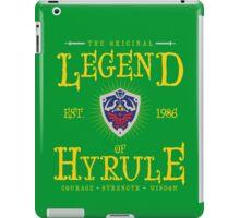 Original Legend iPad Case/Skin