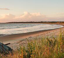 Port Maitland Beach, Near Sunset by Debbie  Roberts