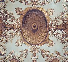 Detail of the ceiling in the Grand Salon by Bridgeman Art Library
