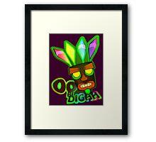 'OOBIDIGAH' Framed Print