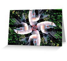 King Vulture Greeting Card