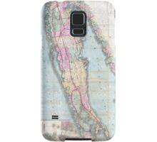 Vintage Map of Long Island (1880)  Samsung Galaxy Case/Skin