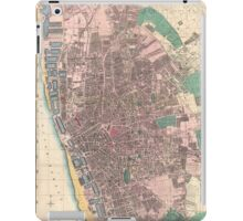 Vintage Map of Liverpool England (1890) iPad Case/Skin