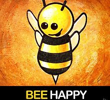 """BEE Happy"" POOTERBELLY by Pat McNeely"