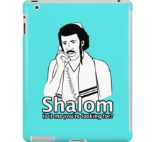 Shalom, Is It Me You're Looking For? iPad Case/Skin
