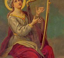 Ceiling Fresco, St. Malachy Church, North Philadelphia by PhillyChurches