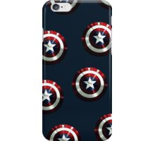 captain america shield iPhone Case/Skin