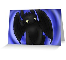 Little Toothless Greeting Card