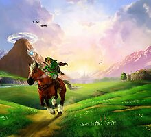 Legend of Zelda Ocarina of Time by chrissy42