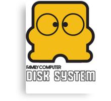 Famicom Disk System Canvas Print