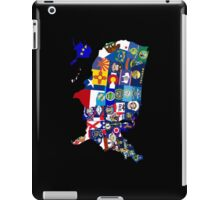USA State Flags Map Mosaic iPad Case/Skin