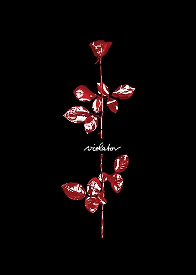 Depeche Mode : Violator Paint LP by Luc Lambert