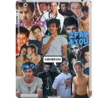 Cameron Dallas Collage iPad Case/Skin