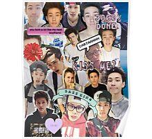 Carter Reynolds Collage Poster