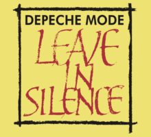 Depeche Mode : Leave In Silence Kids Clothes