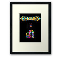 Columns Framed Print