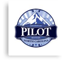 Pilot Mountain North Carolina Canvas Print