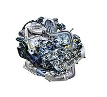 Subaru EJ20-25 Engine by fadouli